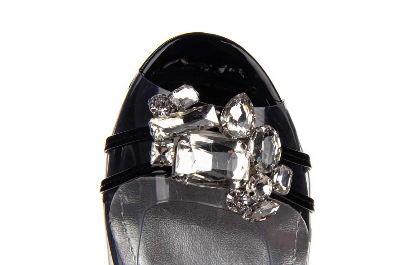 Sandały sca'viola g-25 black 047187, czarny, silikon 17