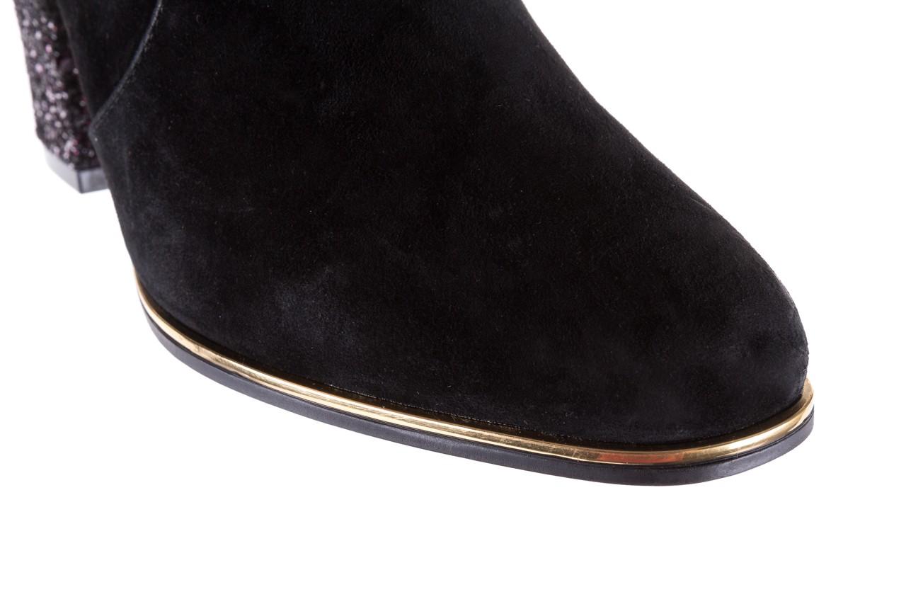 Botki bayla-018 1758-x7 black 17, czarny, skóra naturalna  - bayla - nasze marki 13