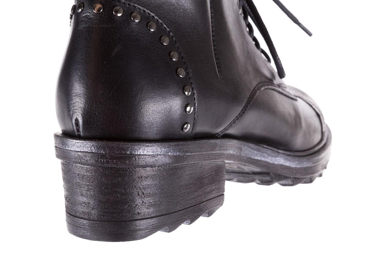 Trzewiki bayla-131 8300 nero, czarny, skóra naturalna  - bayla - nasze marki 13