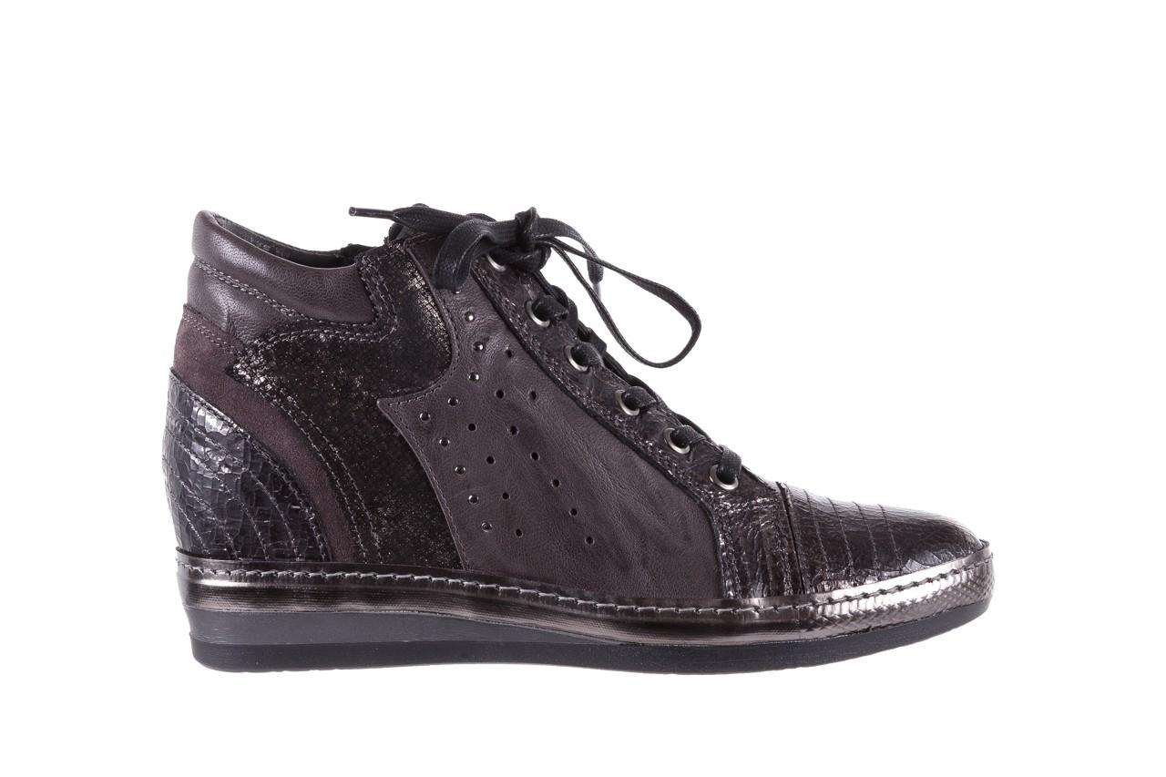 Sneakersy bayla-131 7109 grey, szary, skóra naturalna  - bayla - nasze marki 7
