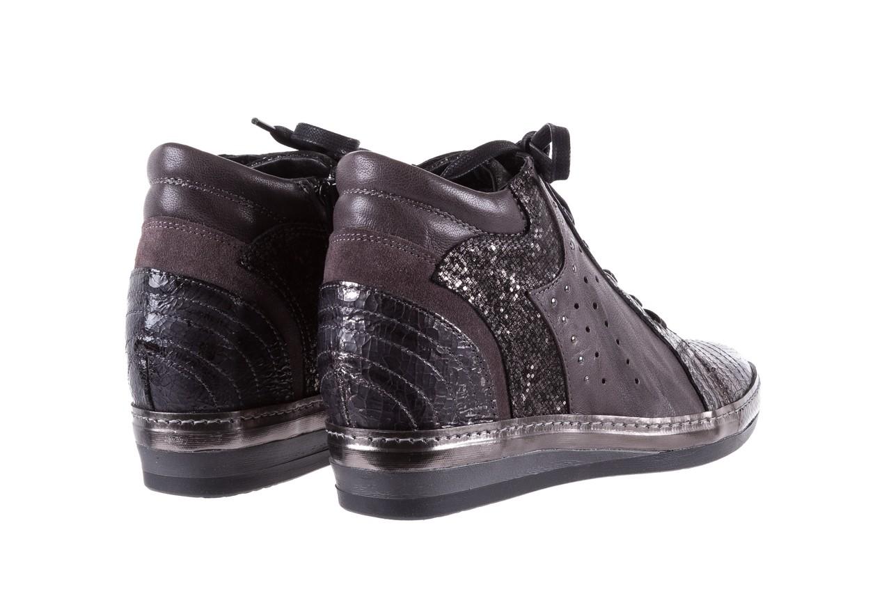 Sneakersy bayla-131 7109 grey, szary, skóra naturalna  - bayla - nasze marki 10