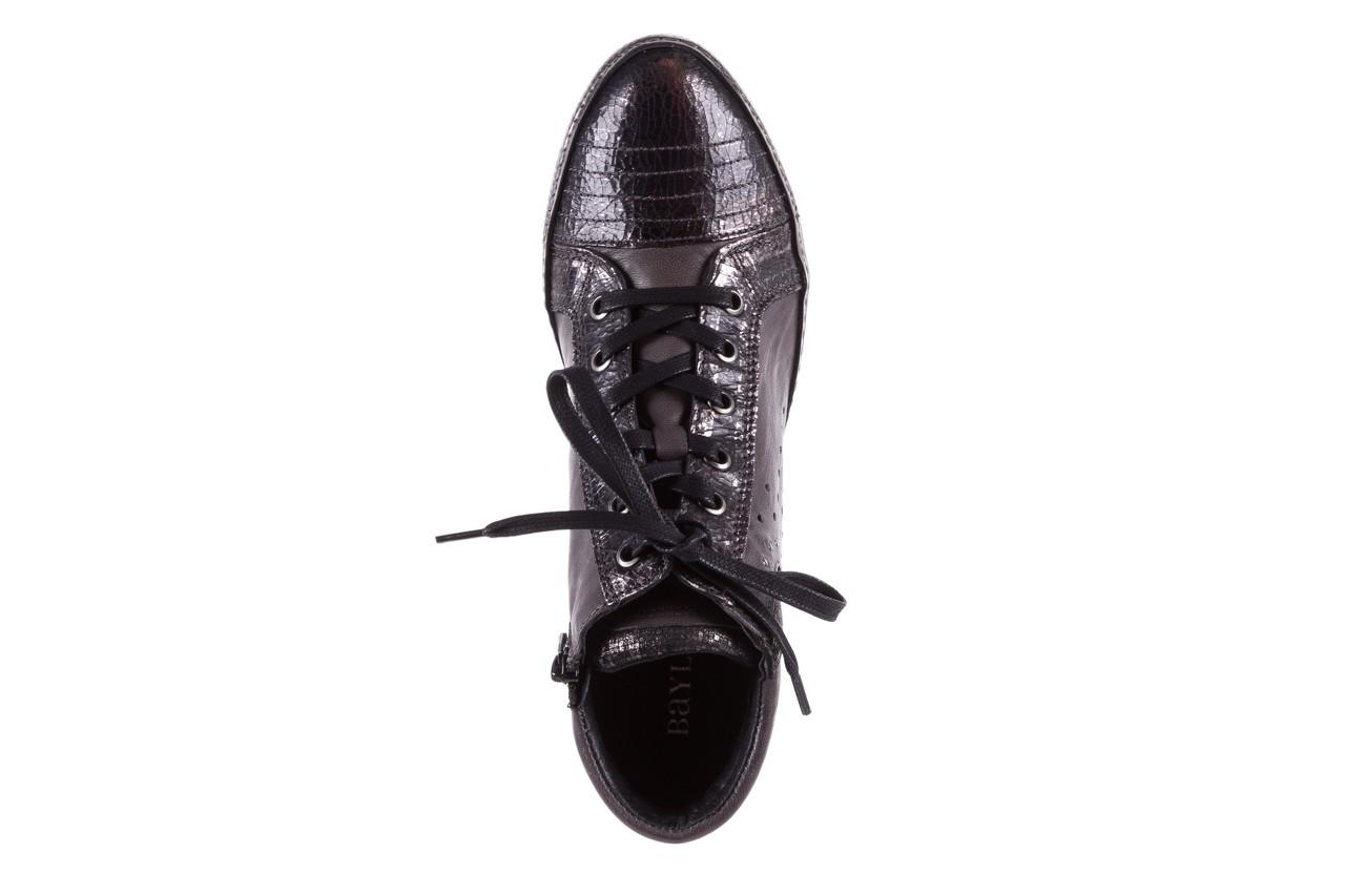 Sneakersy bayla-131 7109 grey, szary, skóra naturalna  - bayla - nasze marki 11