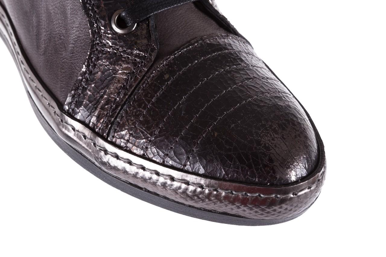 Sneakersy bayla-131 7109 grey, szary, skóra naturalna  - bayla - nasze marki 12