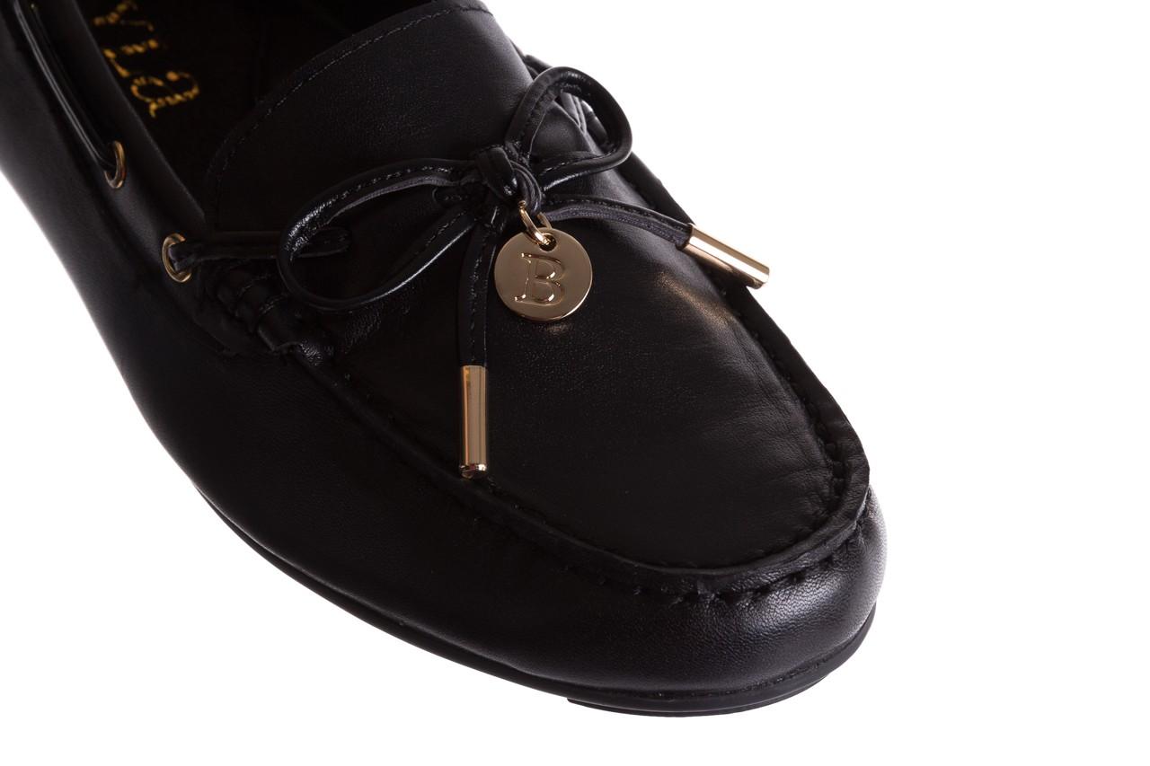 Mokasyny bayla-018 3173-358 black nappa, czarny, skóra naturalna  - bayla - nasze marki 12