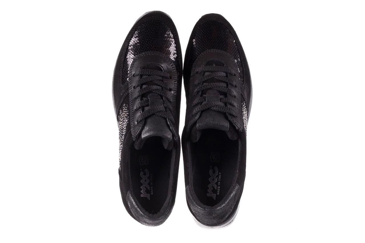 Trampki imac 208850 black black, czarny, skóra naturalna - imac  - nasze marki 12