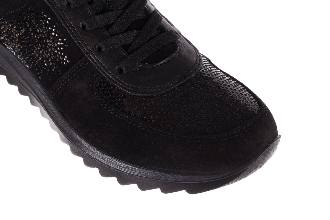 Trampki imac 208850 black black, czarny, skóra naturalna - imac  - nasze marki 13