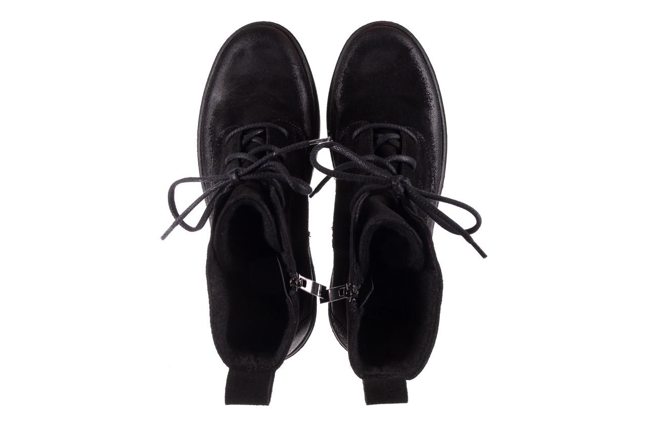 Trzewki bayla-100 1004 czarne sportowe trzewiki, skóra naturalna - trzewiki - buty damskie - kobieta 13