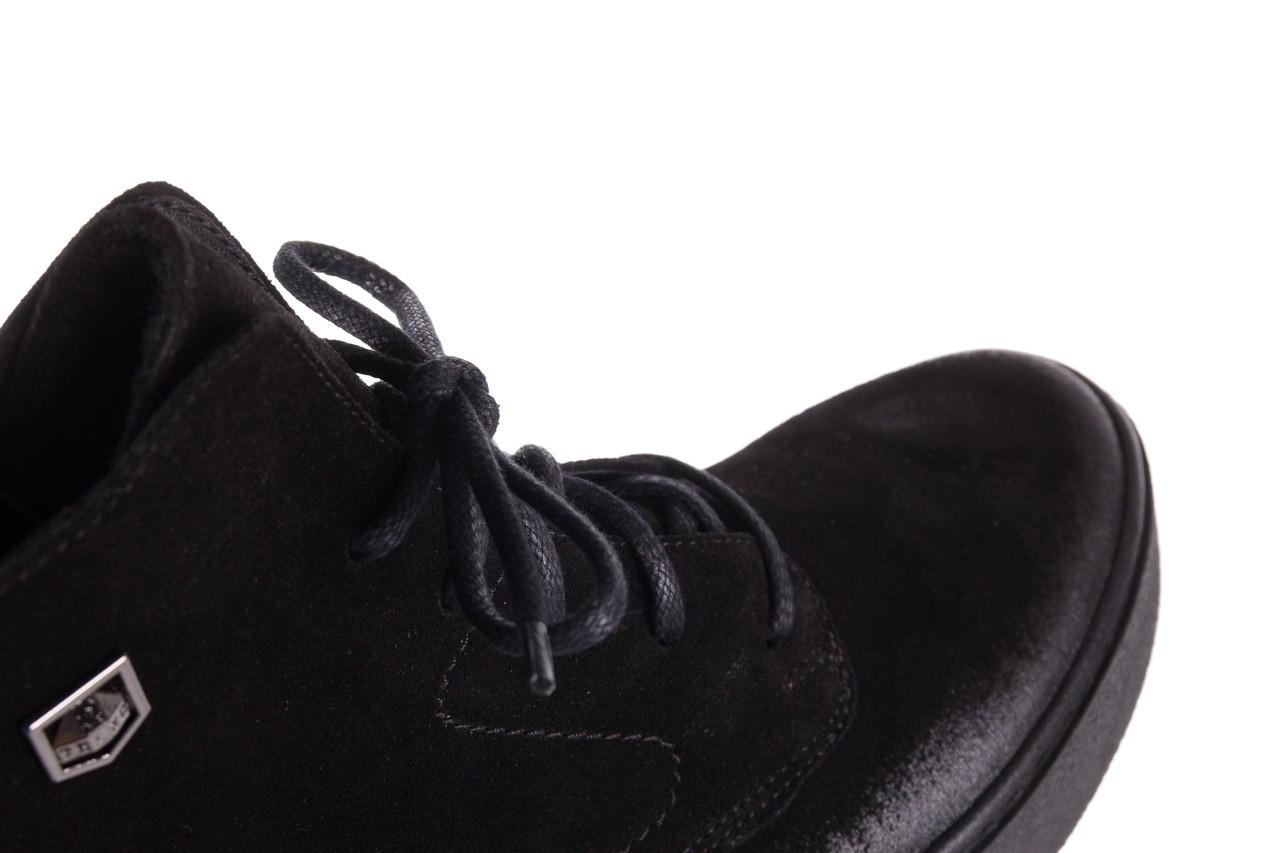 Trzewki bayla-100 1004 czarne sportowe trzewiki, skóra naturalna - trzewiki - buty damskie - kobieta 15