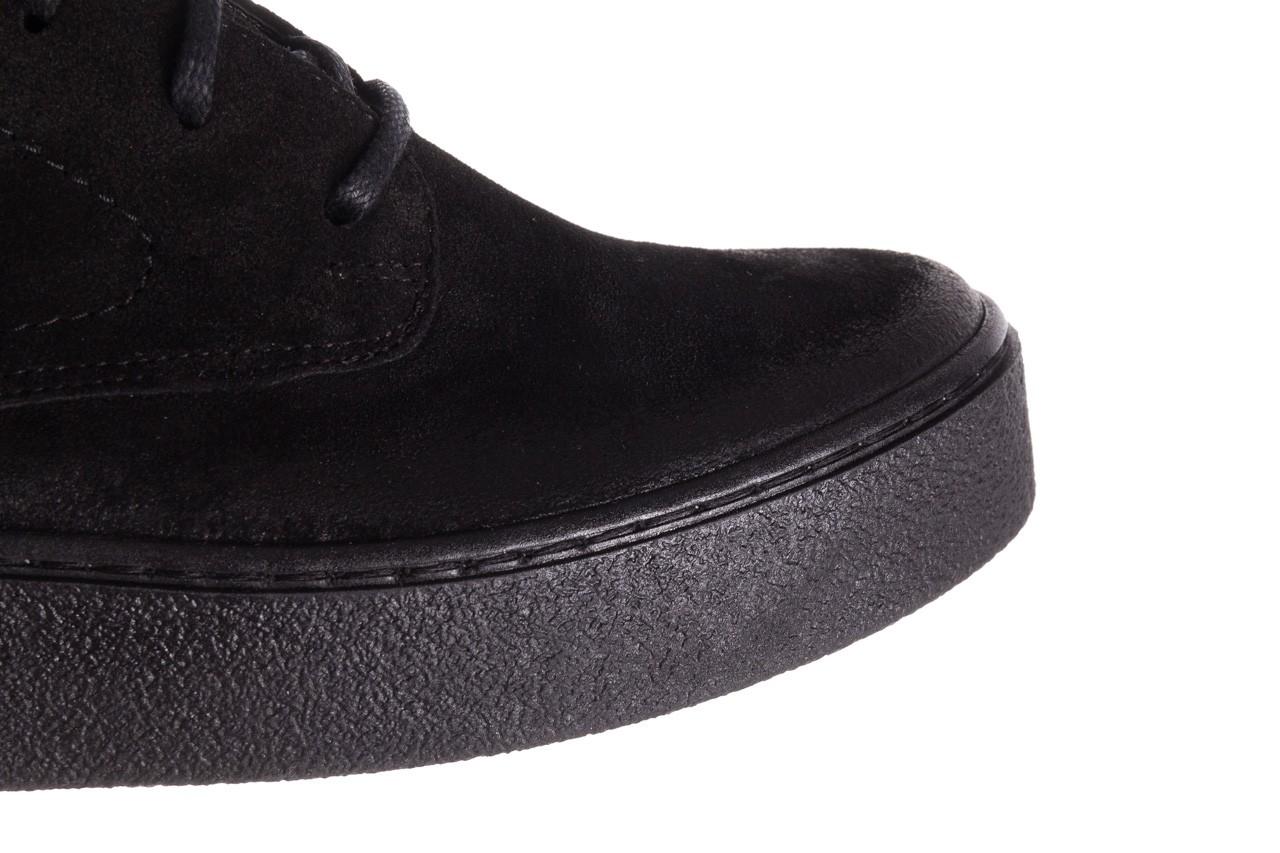 Trzewki bayla-100 1004 czarne sportowe trzewiki, skóra naturalna - trzewiki - buty damskie - kobieta 17