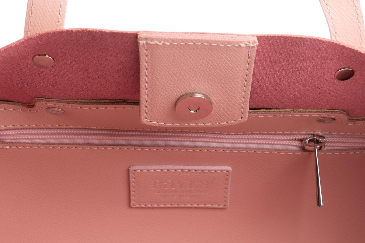 Torebka bayla-180 jasnoróżowa torebka ze skóry loren - akcesoria - kobieta 15