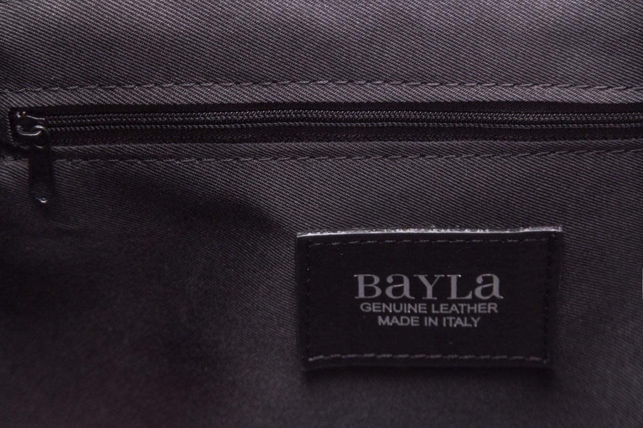 Torebka bayla-180 czarna torebka ze skóry mia - bayla - nasze marki 13