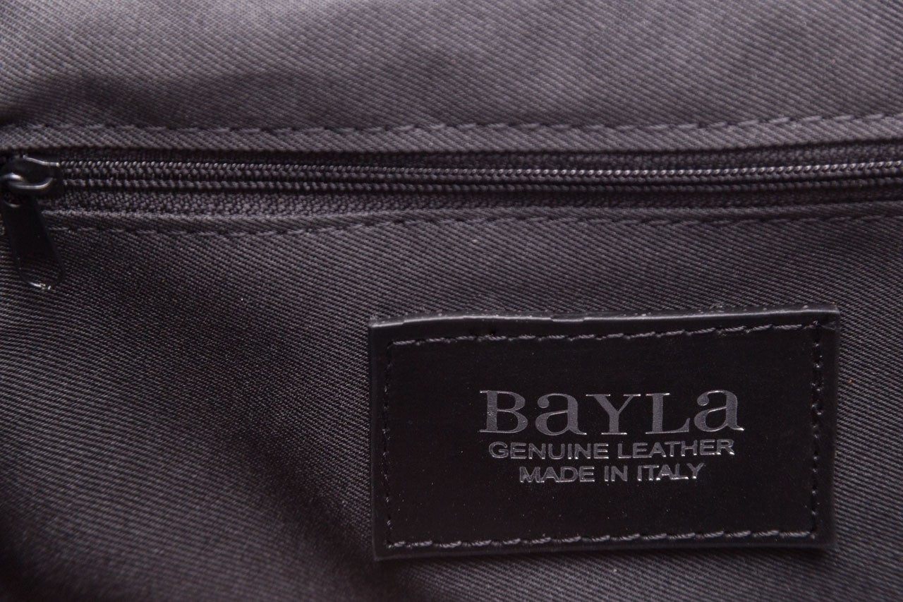 Torebka bayla-180 czarna torebka ze skóry luna - akcesoria - kobieta 13