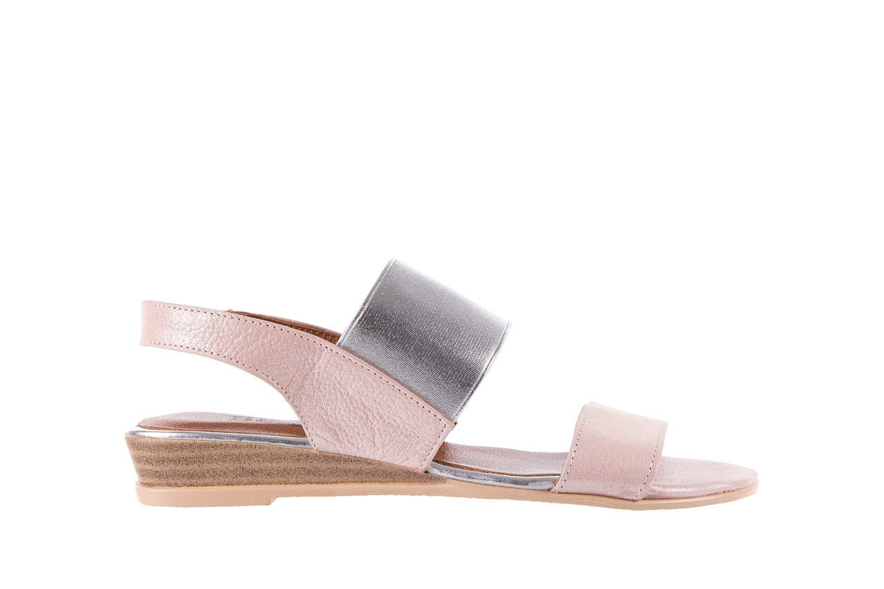 Sandały bayla-112 0410-120 powder satin, róż, skóra naturalna  - bayla - nasze marki 7