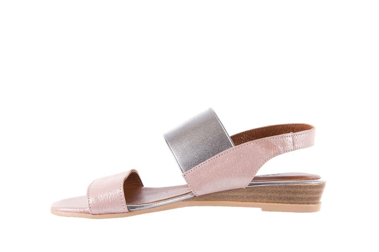 Sandały bayla-112 0410-120 powder satin, róż, skóra naturalna  - bayla - nasze marki 9
