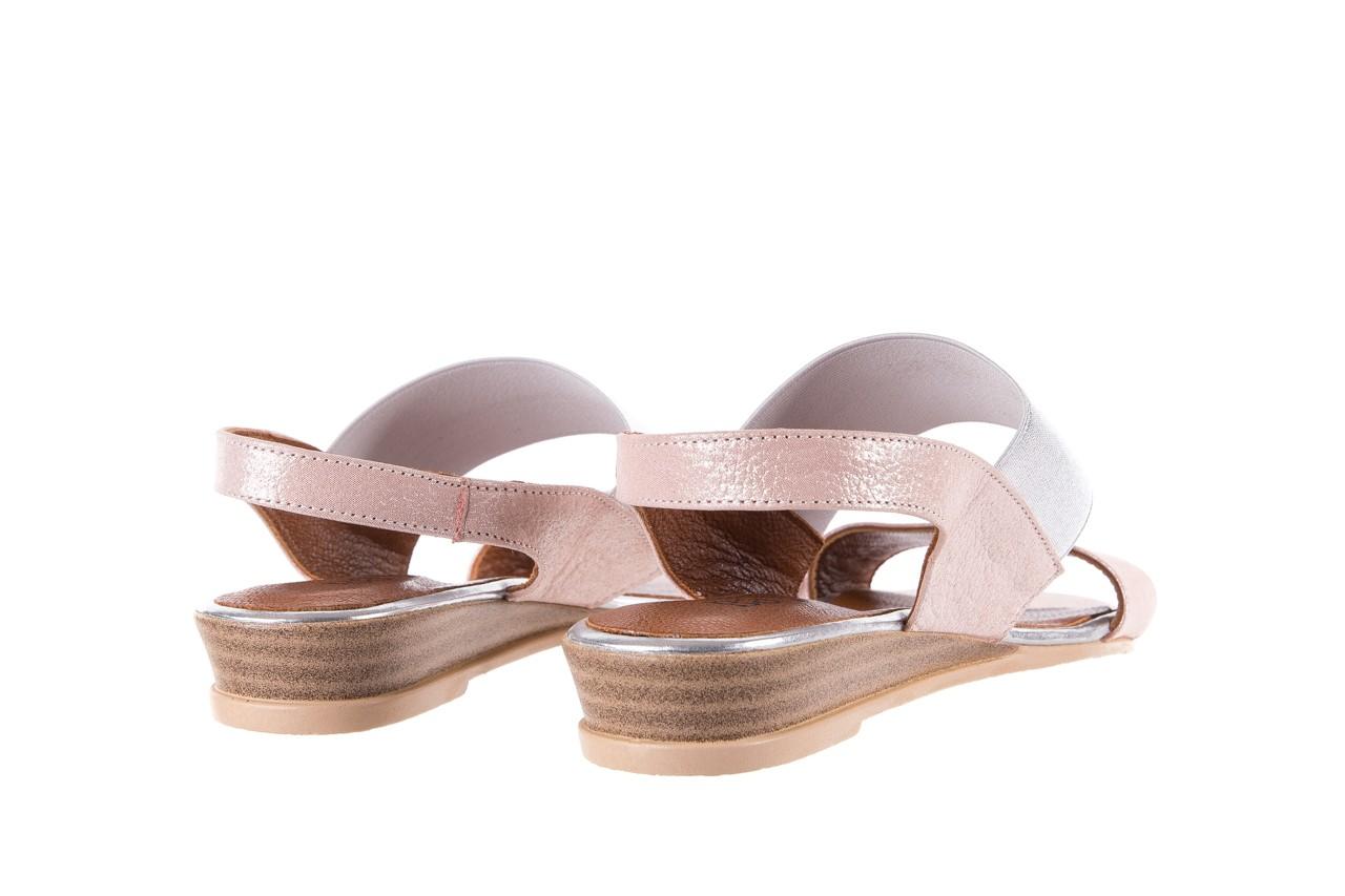 Sandały bayla-112 0410-120 powder satin, róż, skóra naturalna  - bayla - nasze marki 10