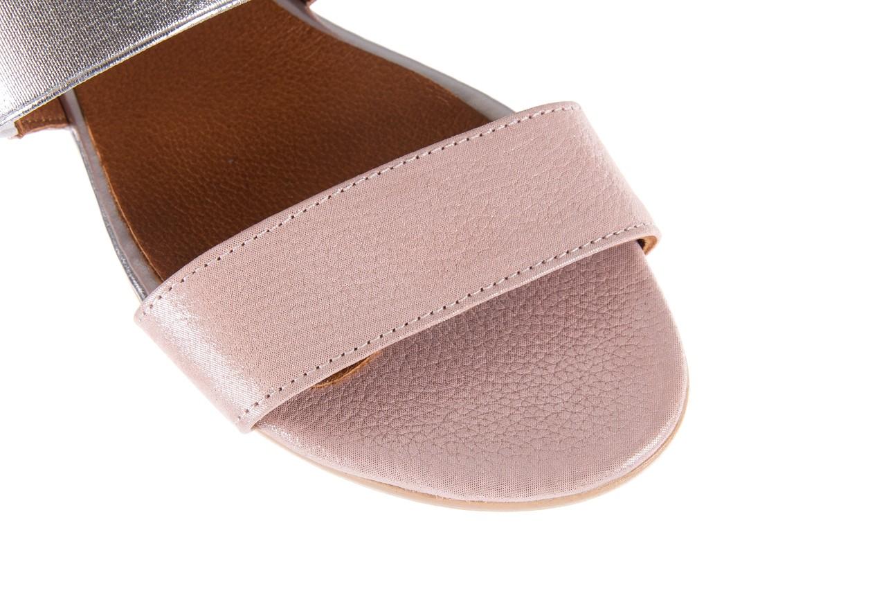 Sandały bayla-112 0410-120 powder satin, róż, skóra naturalna  - bayla - nasze marki 12