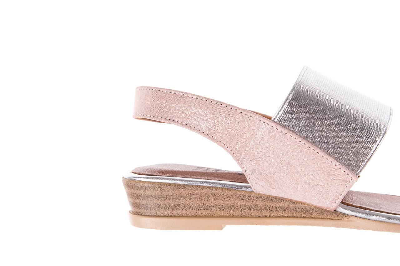 Sandały bayla-112 0410-120 powder satin, róż, skóra naturalna  - bayla - nasze marki 13