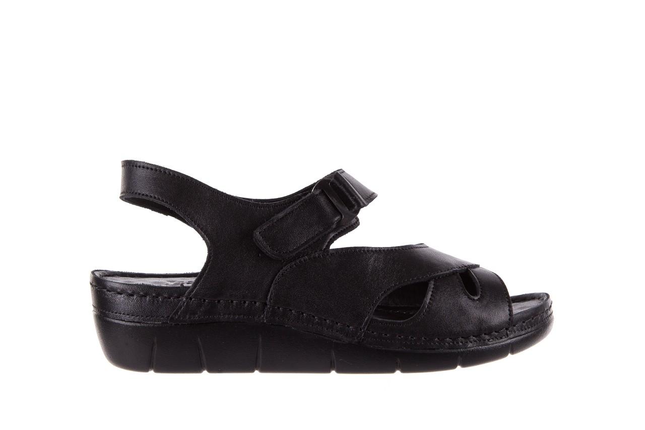 Sandały bayla-112 0348-3002 black, czarny, skóra naturalna  - sandały - letnie hity cenowe 8