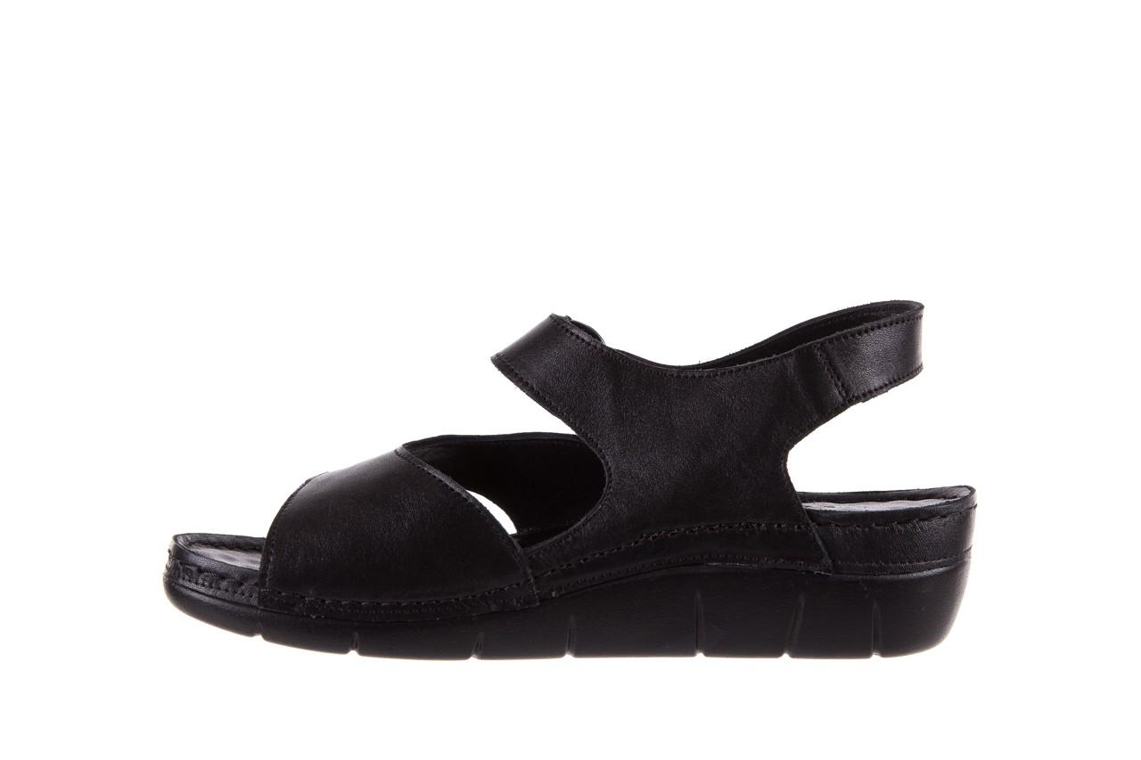 Sandały bayla-112 0348-3002 black, czarny, skóra naturalna  - sandały - letnie hity cenowe 10