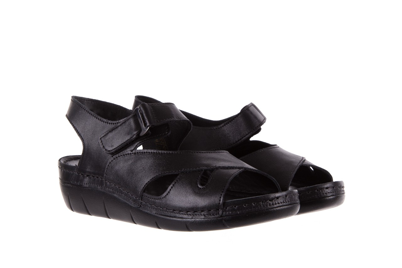 Sandały bayla-112 0348-3002 black, czarny, skóra naturalna  - sandały - letnie hity cenowe 9