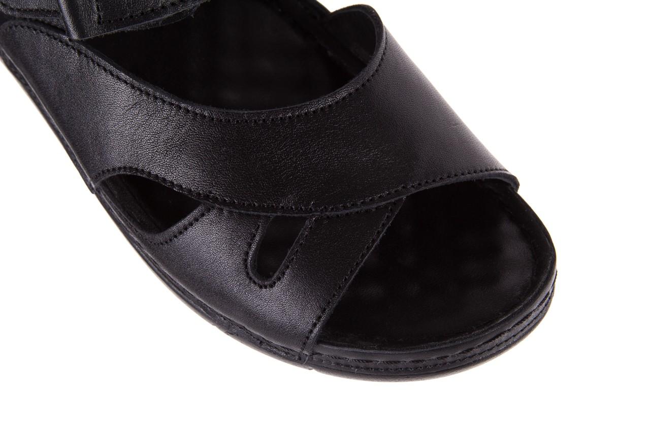 Sandały bayla-112 0348-3002 black, czarny, skóra naturalna  - sandały - letnie hity cenowe 14