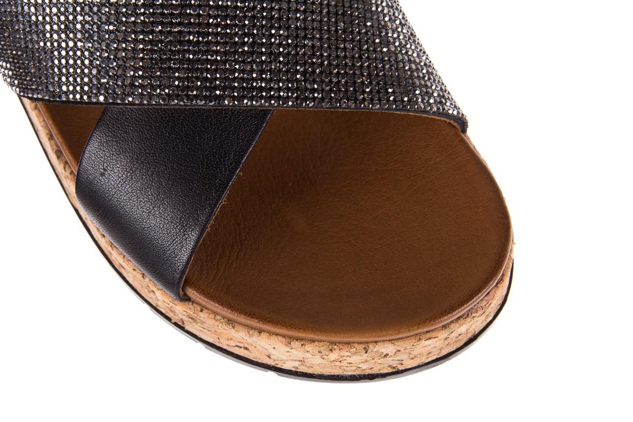 Klapki bayla-112 0396-204 black, czarny, skóra naturalna  - bayla - nasze marki 12
