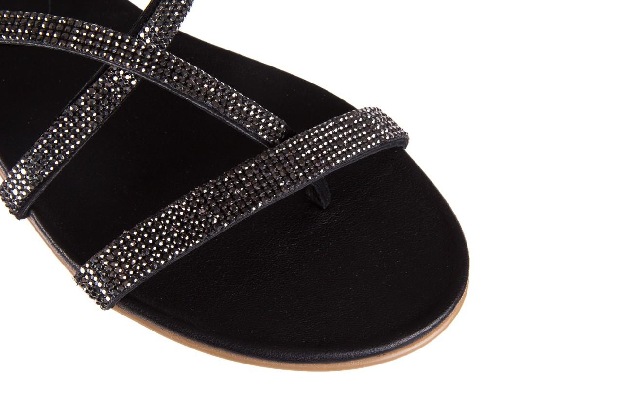 Klapki bayla-112 0396-304 black, czarny, skóra naturalna  - bayla - nasze marki 12
