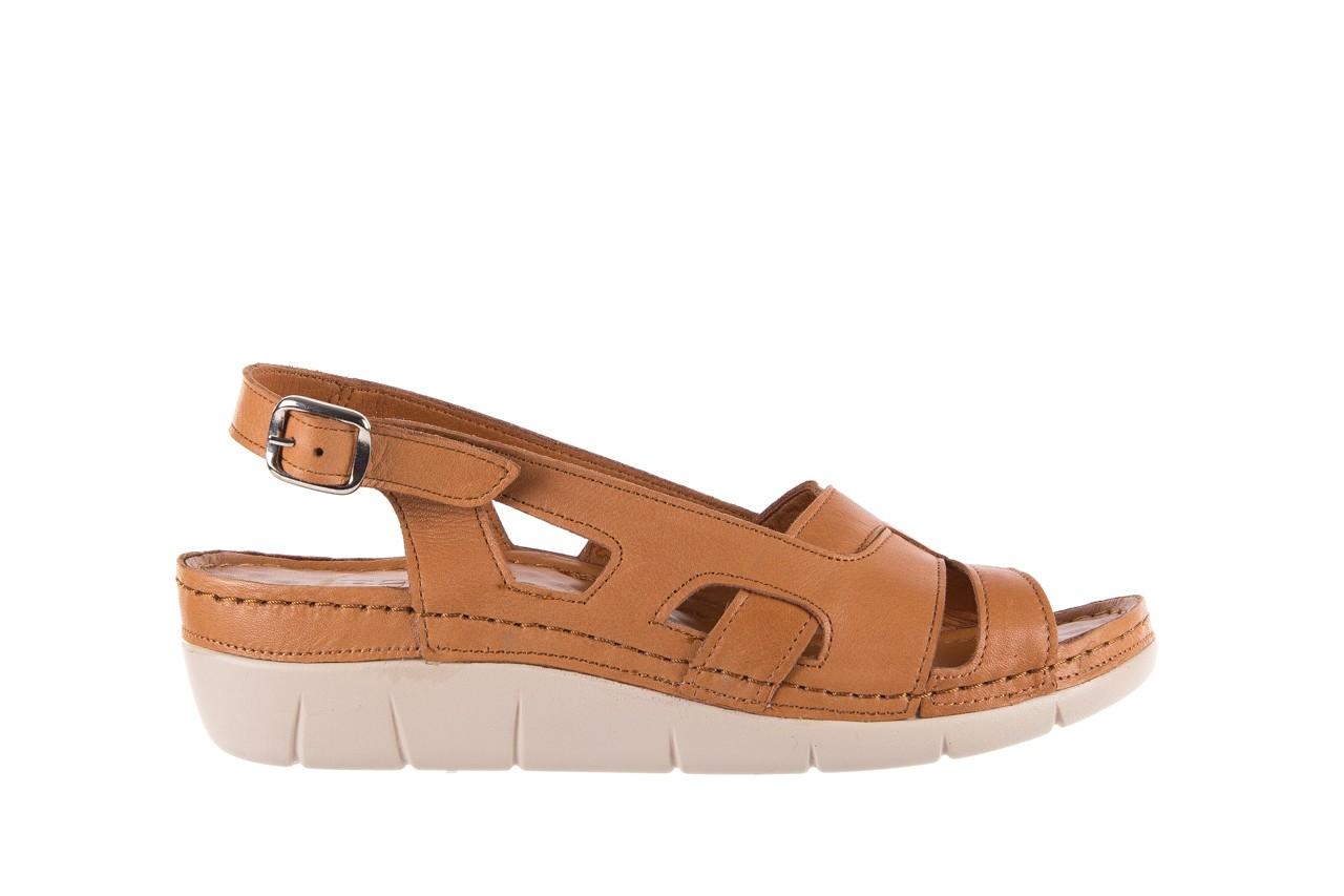 Sandały bayla-112 0348-3003 tan, brąz, skóra naturalna  - bayla - nasze marki 8