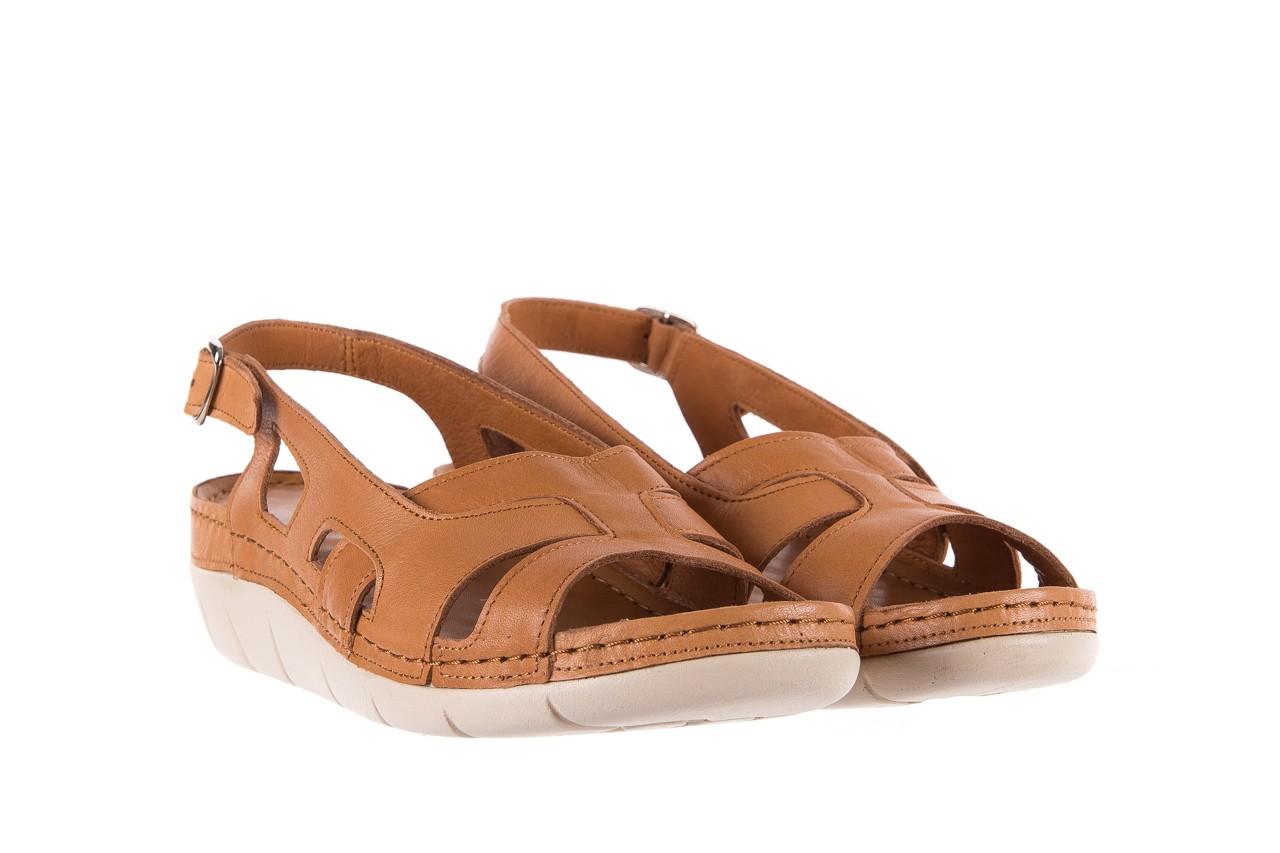 Sandały bayla-112 0348-3003 tan, brąz, skóra naturalna  - bayla - nasze marki 9
