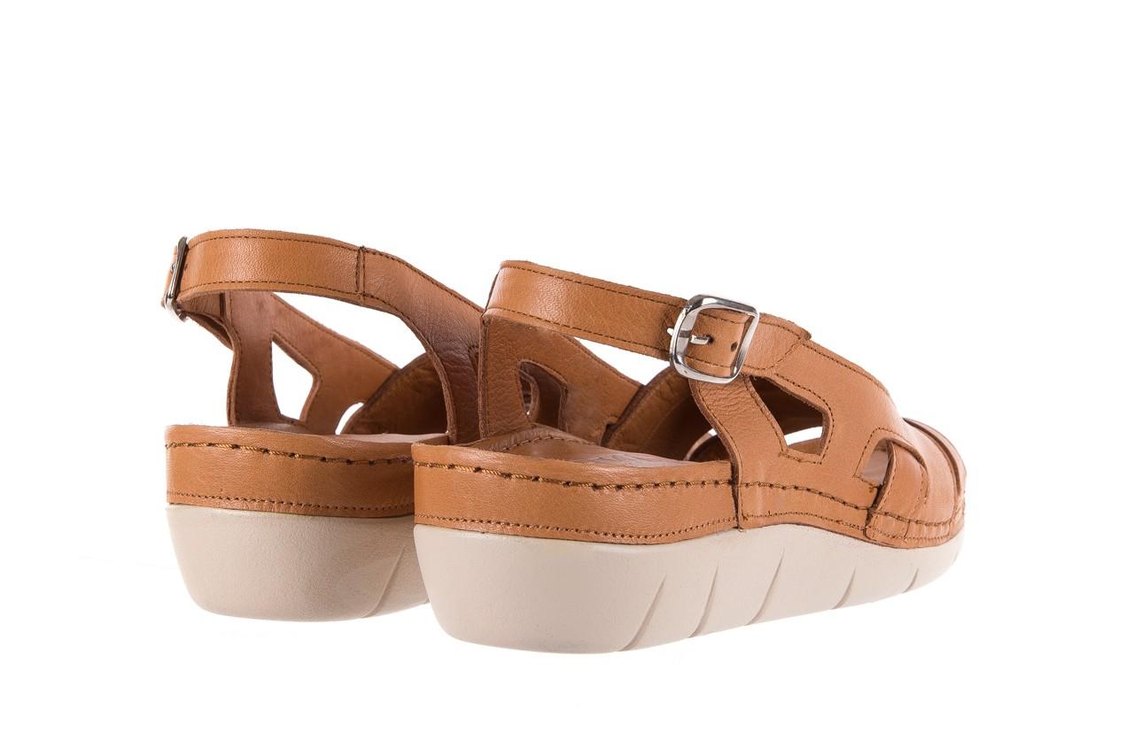 Sandały bayla-112 0348-3003 tan, brąz, skóra naturalna  - bayla - nasze marki 11