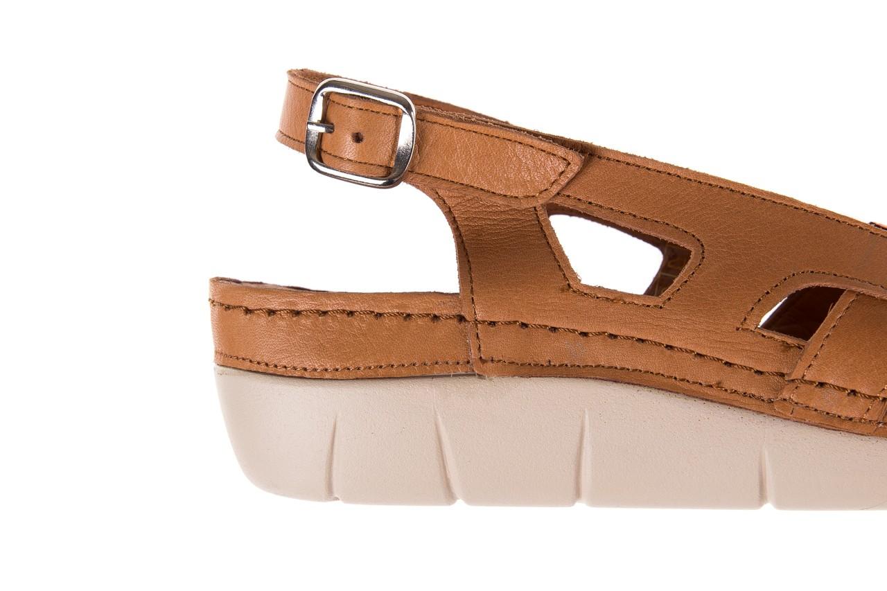 Sandały bayla-112 0348-3003 tan, brąz, skóra naturalna  - bayla - nasze marki 13