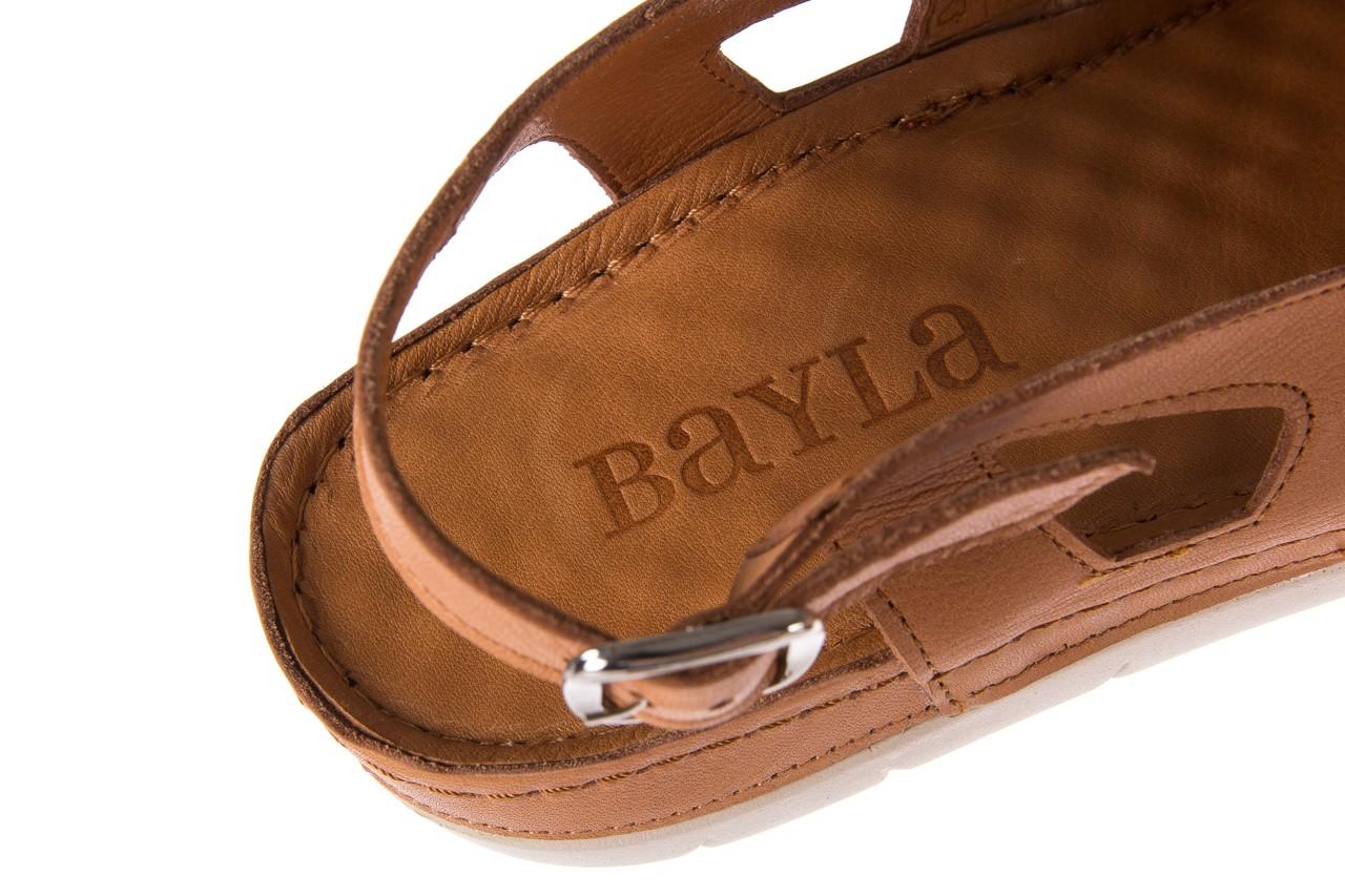 Sandały bayla-112 0348-3003 tan, brąz, skóra naturalna  - bayla - nasze marki 15