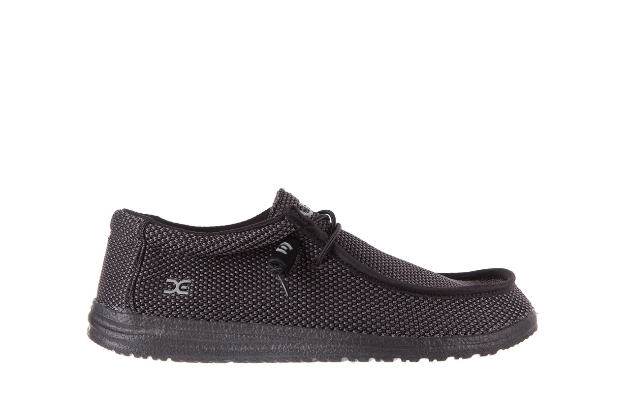 Półbuty heydude wally sox black, czarny, materiał  - heydude - nasze marki 6