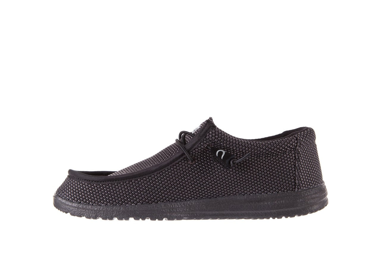 Półbuty heydude wally sox black, czarny, materiał  - heydude - nasze marki 8