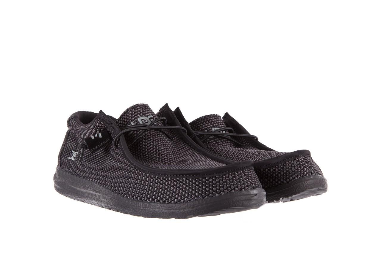 Półbuty heydude wally sox black, czarny, materiał  - heydude - nasze marki 7