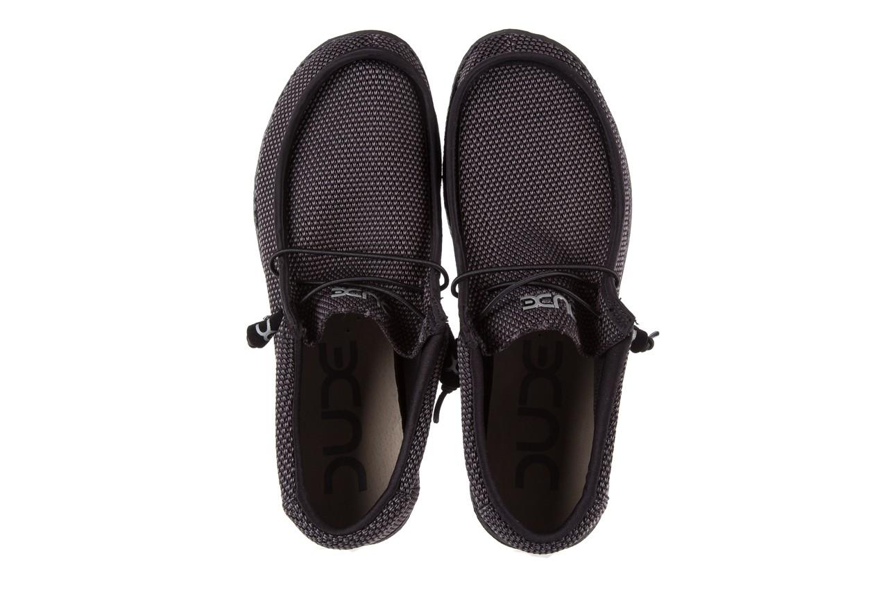 Półbuty heydude wally sox black, czarny, materiał  - heydude - nasze marki 10