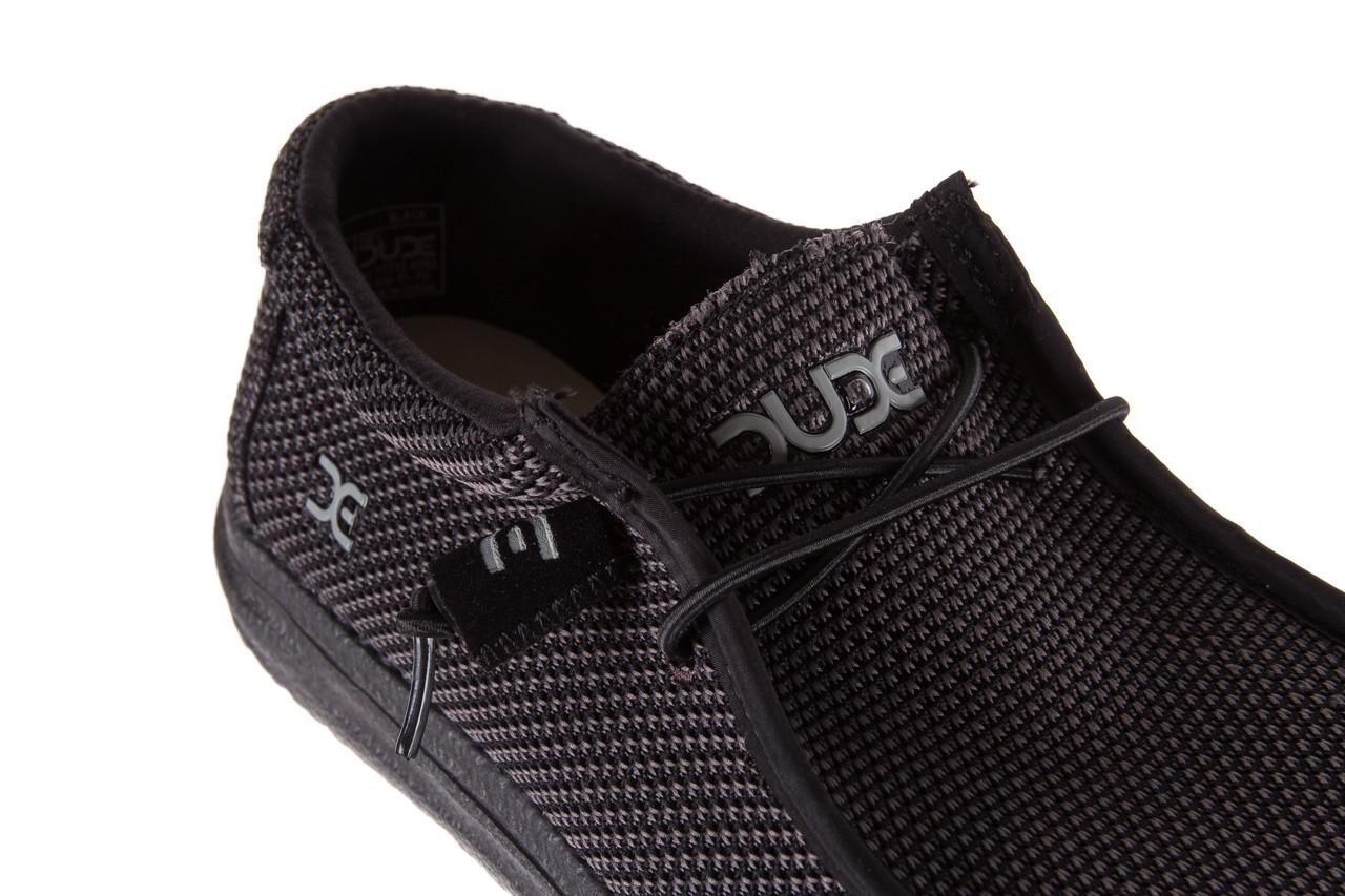 Półbuty heydude wally sox black, czarny, materiał  - heydude - nasze marki 11