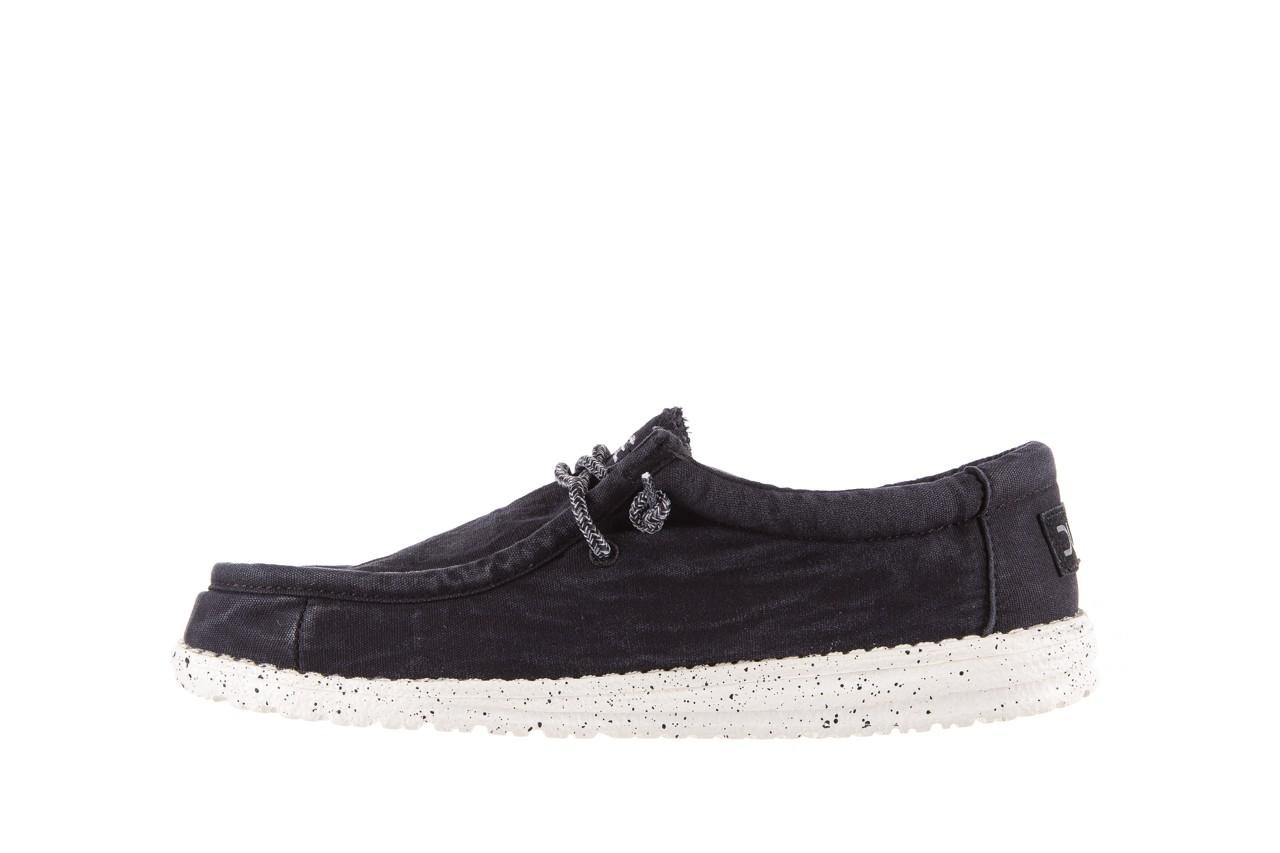 Półbuty heydude wally washed black, czarny, materiał - sportowe - półbuty - buty męskie - mężczyzna 8