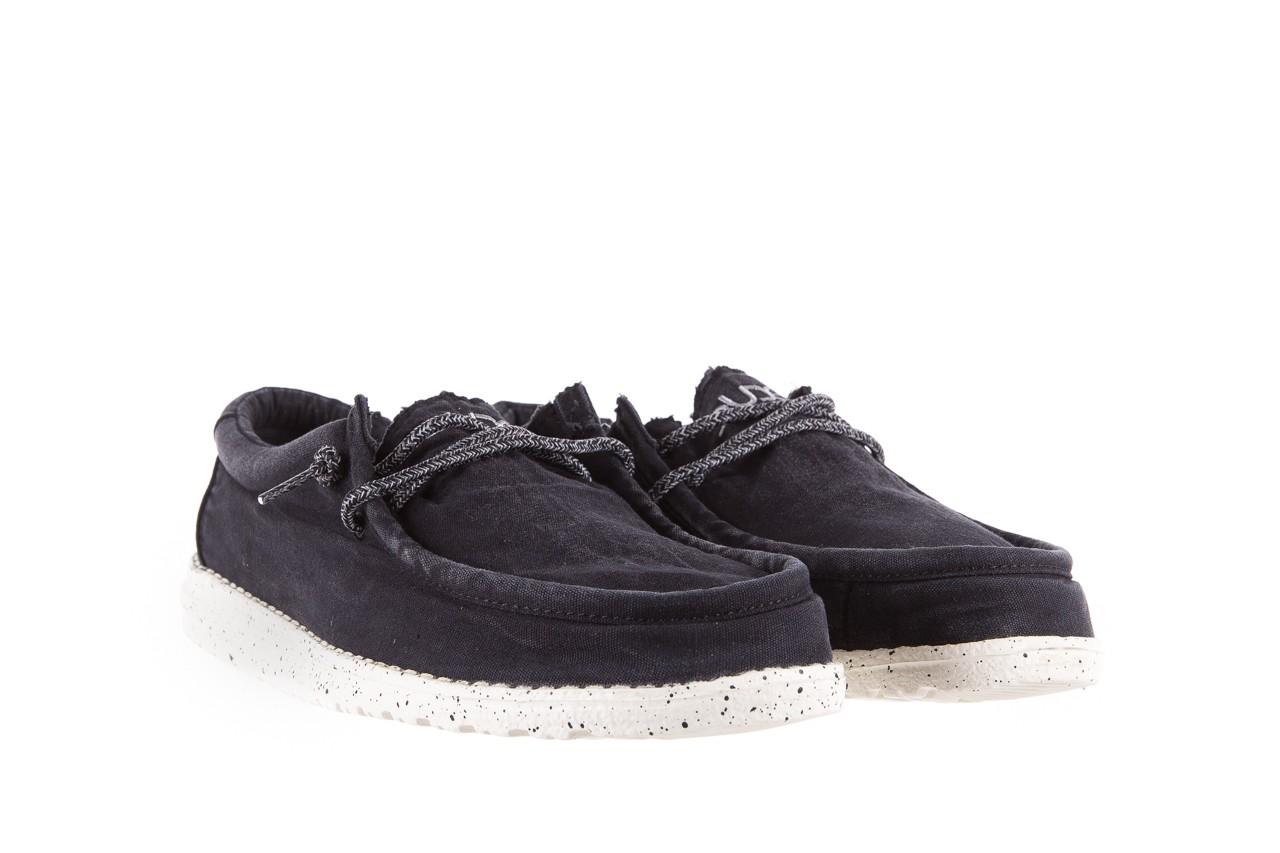 Półbuty heydude wally washed black, czarny, materiał - sportowe - półbuty - buty męskie - mężczyzna 7