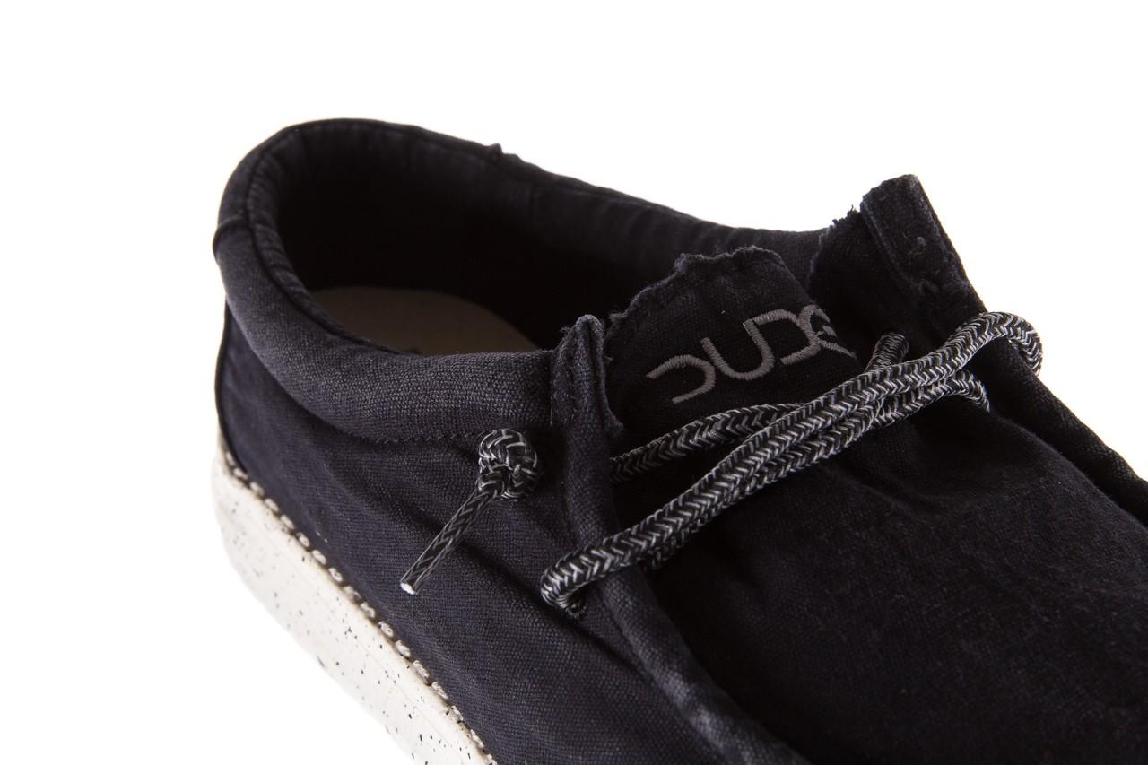 Półbuty heydude wally washed black, czarny, materiał - sportowe - półbuty - buty męskie - mężczyzna 11