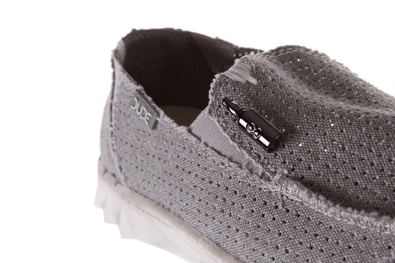 Półbuty heydude farty perforated light grey, szary, materiał - heydude - nasze marki 11