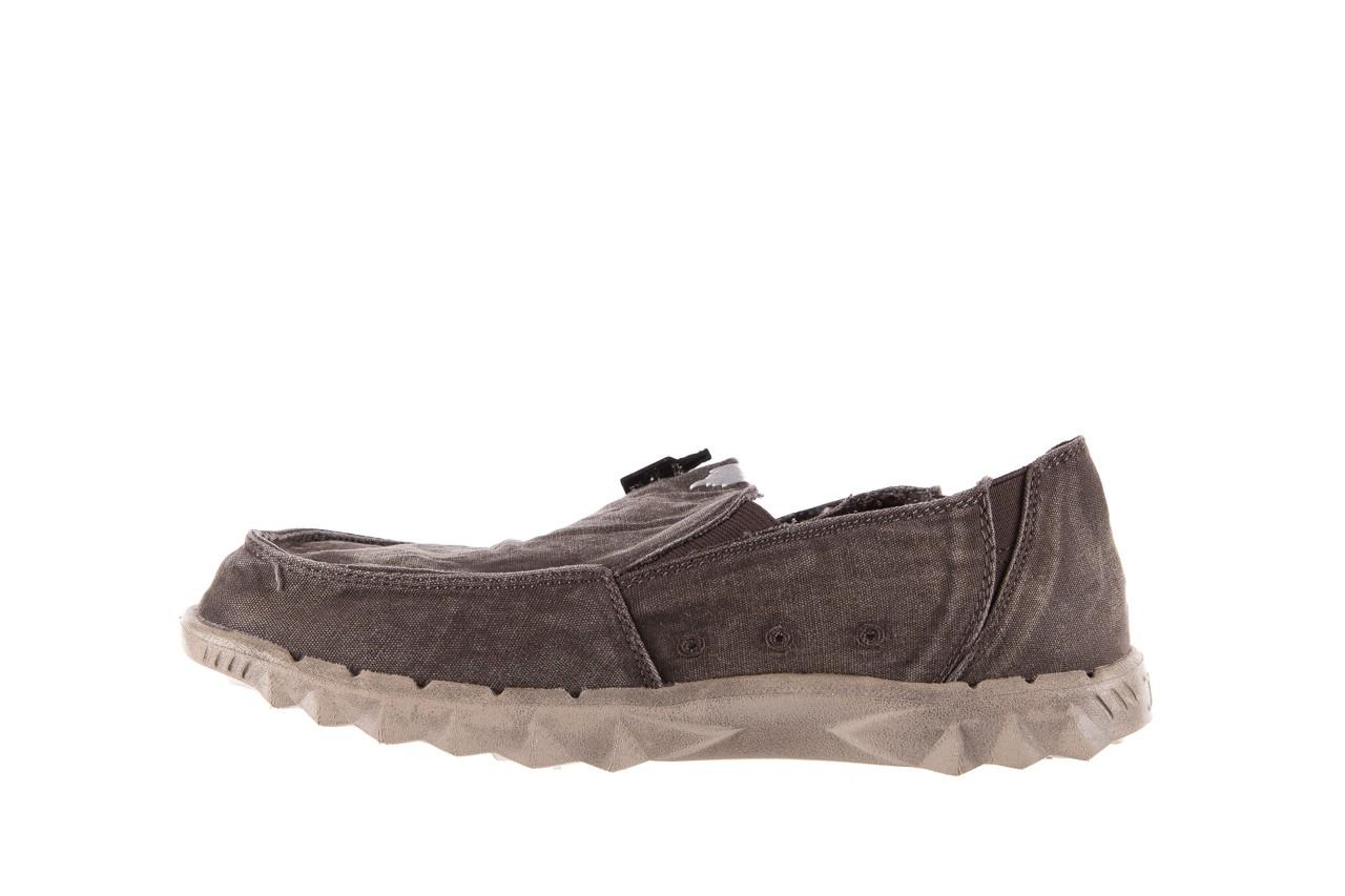 Półbuty heydude farty washed mud, brąz, materiał  - heydude - nasze marki 8