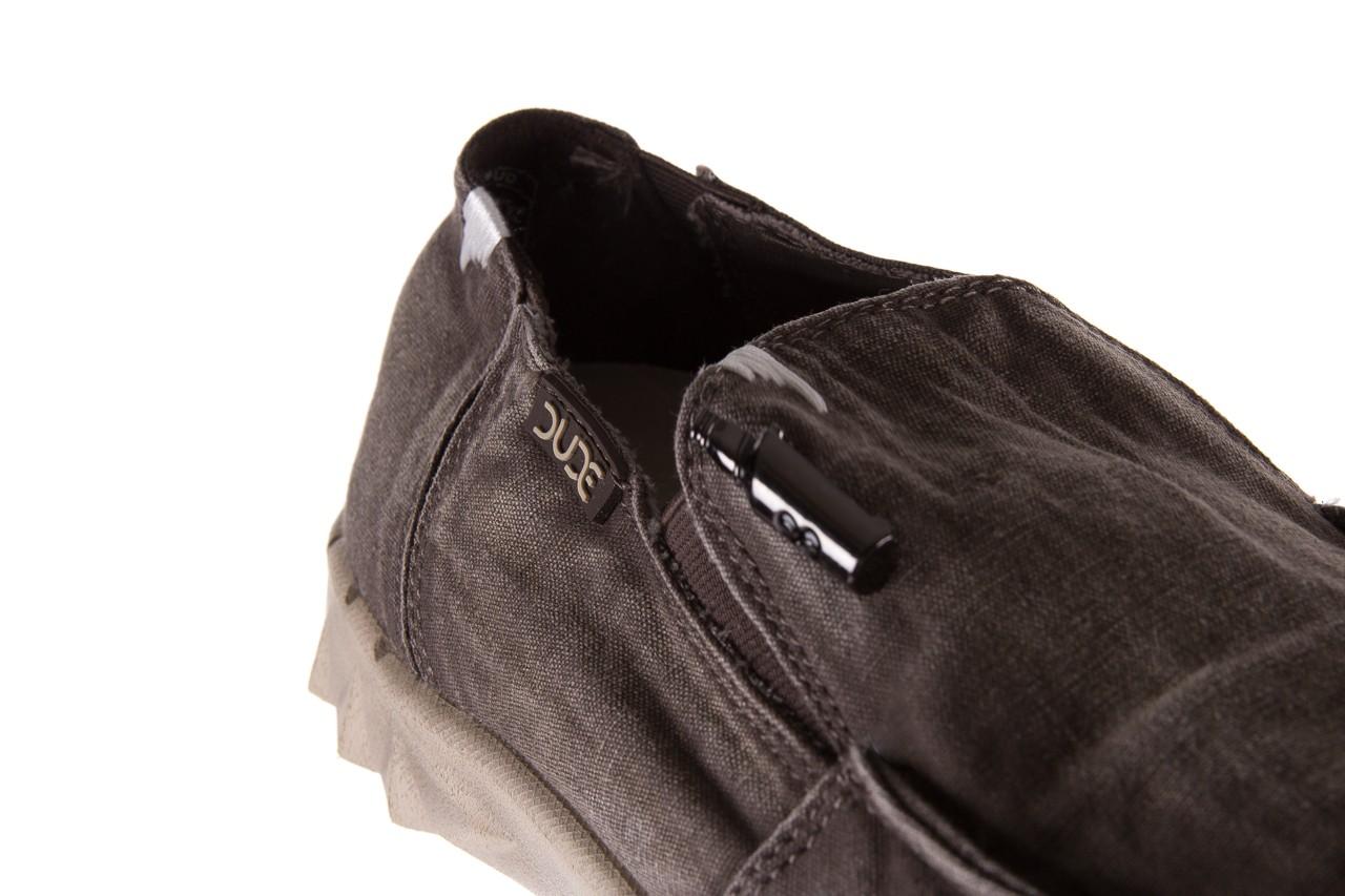 Półbuty heydude farty washed mud, brąz, materiał  - heydude - nasze marki 10