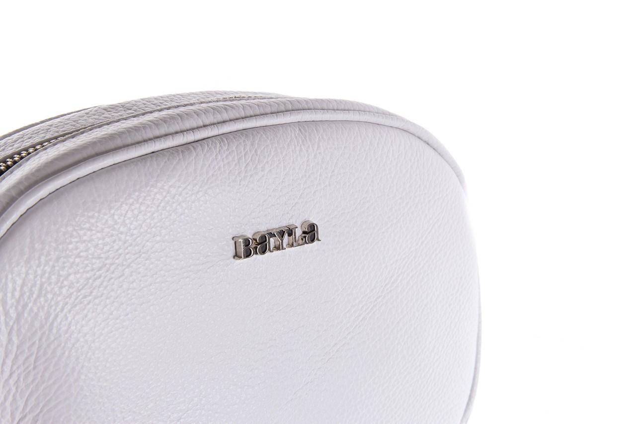 Torebka bayla-165 torebka skórzana vicky biała, skóra naturalna  - bayla - nasze marki 9