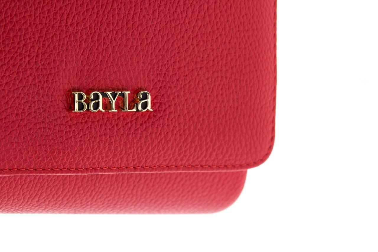 Torebka bayla-165 torebka skórzana camilla czerwona, skóra naturalna  - bayla - nasze marki 7