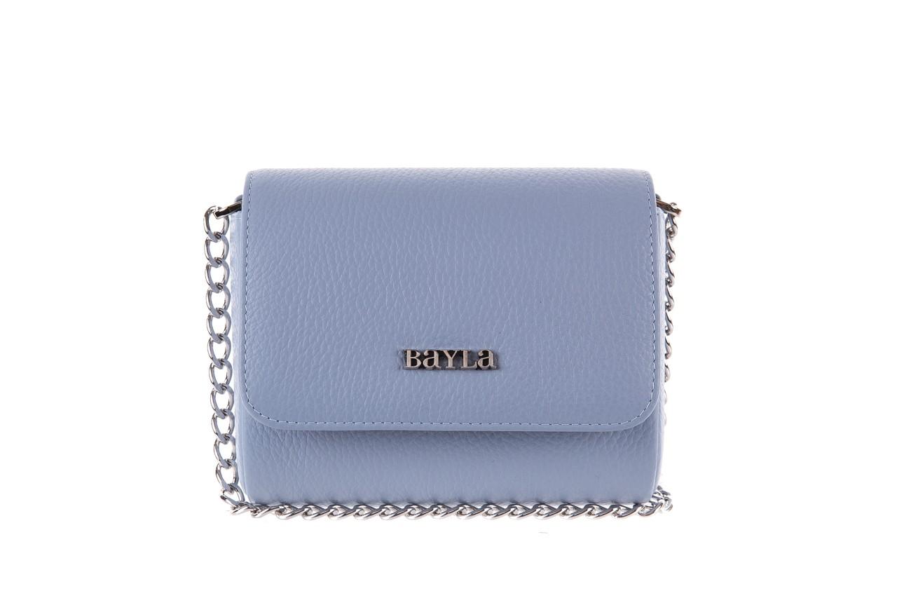 Bayla-165 torebka skórzana camilla niebieska - bayla - nasze marki 4