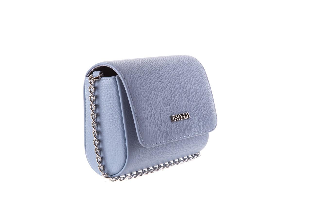 Bayla-165 torebka skórzana camilla niebieska - bayla - nasze marki 5
