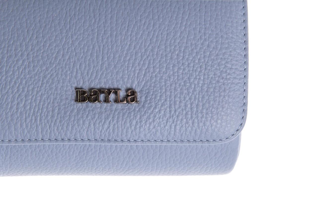 Bayla-165 torebka skórzana camilla niebieska - bayla - nasze marki 7