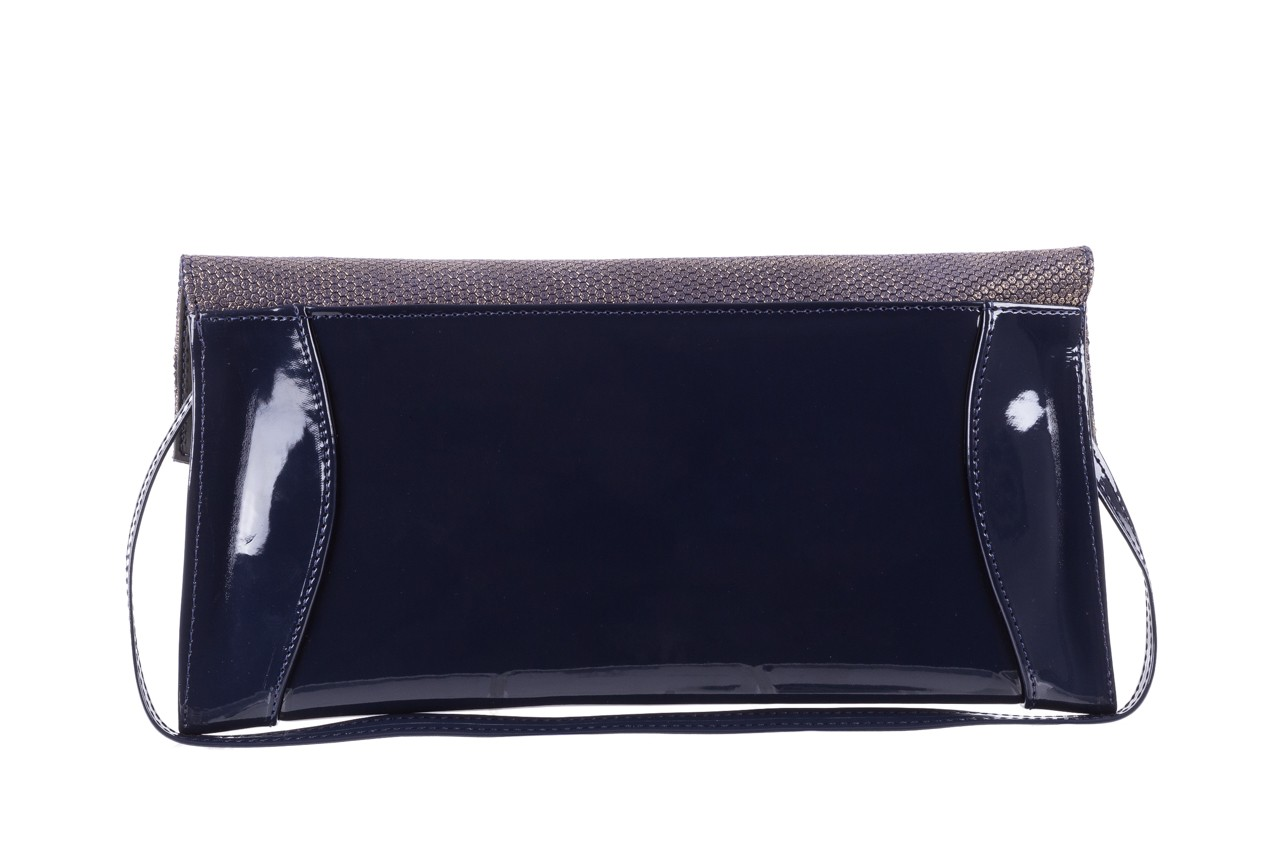 Bayla-097 torebka koperta sandra granatowo-złota - bayla - nasze marki 8