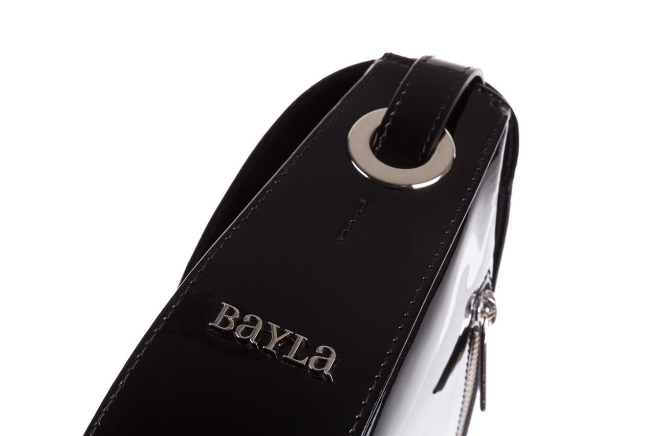 Bayla-165 torebka skórzana iga czarna - bayla - nasze marki 12